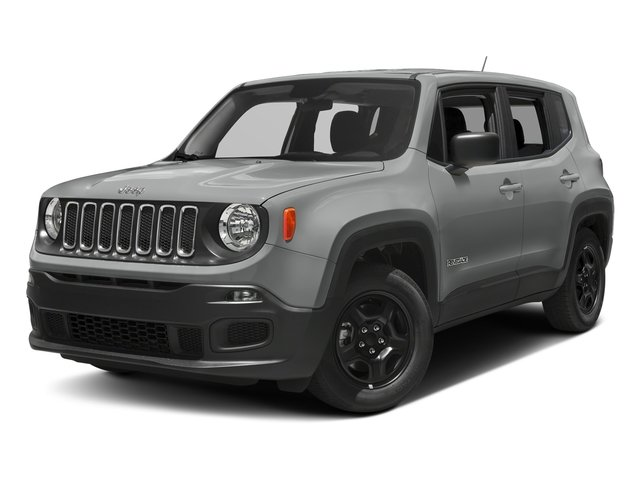 Glacier Metallic 2017 Jeep Renegade Pictures Renegade Sport 4x4 photos front view