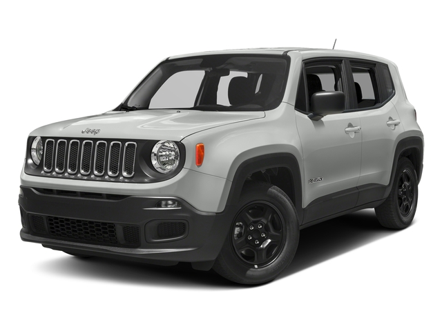 Alpine White 2017 Jeep Renegade Pictures Renegade Sport 4x4 photos front view