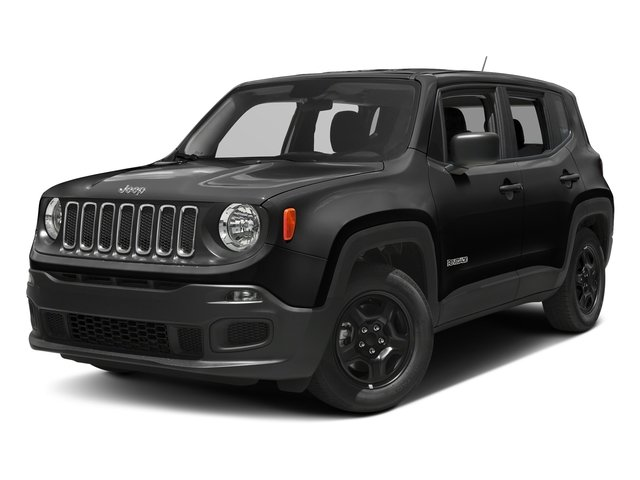 Black 2017 Jeep Renegade Pictures Renegade Sport 4x4 photos front view