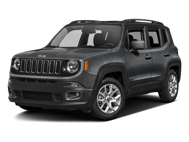 Granite Crystal Metallic Clearcoat 2017 Jeep Renegade Pictures Renegade Altitude FWD photos front view