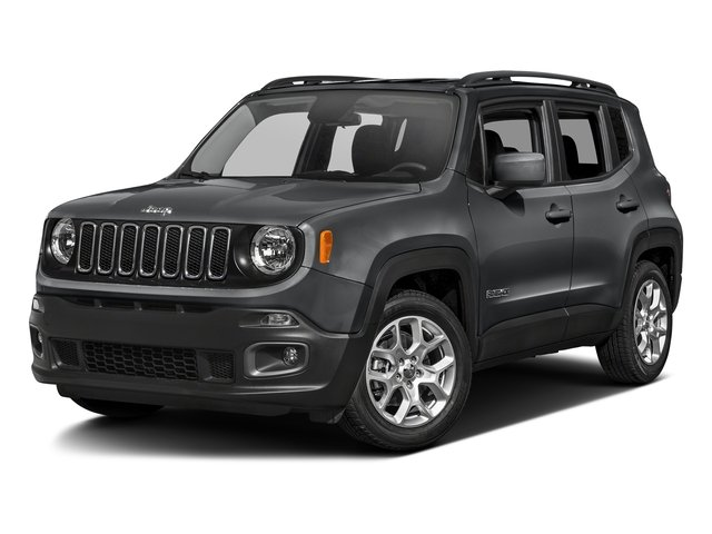 Granite Crystal Metallic Clearcoat 2017 Jeep Renegade Pictures Renegade Latitude 4x4 photos front view