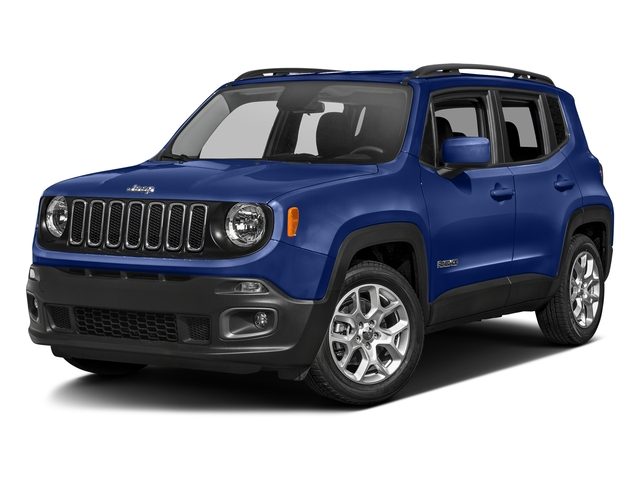 Jetset Blue 2017 Jeep Renegade Pictures Renegade Altitude 4x4 photos front view