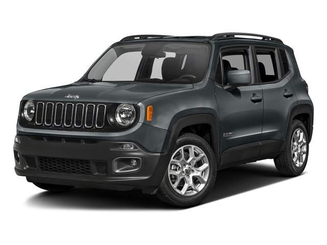 Anvil 2017 Jeep Renegade Pictures Renegade Utility 4D Latitude AWD photos front view