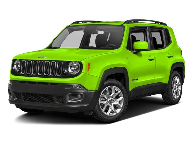 Hypergreen Clearcoat 2017 Jeep Renegade Pictures Renegade Altitude 4x4 photos front view