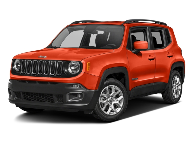 Omaha Orange 2017 Jeep Renegade Pictures Renegade Utility 4D Altitude 4WD photos front view