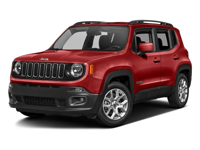 Colorado Red 2017 Jeep Renegade Pictures Renegade Utility 4D Altitude 2WD photos front view