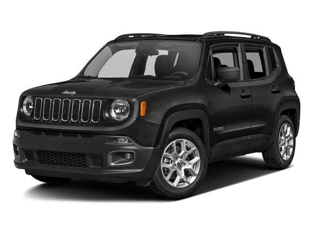 Black 2017 Jeep Renegade Pictures Renegade Latitude FWD photos front view