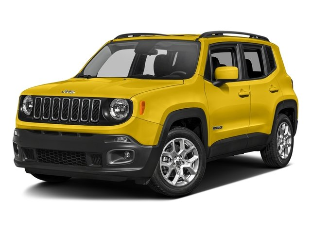 Solar Yellow 2017 Jeep Renegade Pictures Renegade Utility 4D Altitude 4WD photos front view