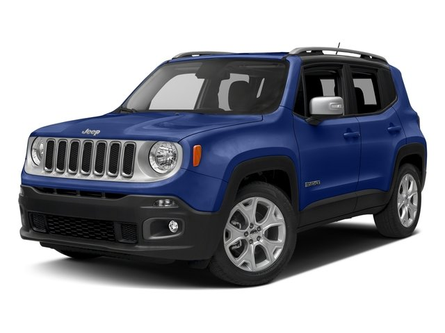 Jetset Blue 2017 Jeep Renegade Pictures Renegade Utility 4D Limited 2WD photos front view