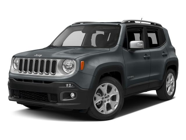 Anvil 2017 Jeep Renegade Pictures Renegade Utility 4D Limited 2WD photos front view
