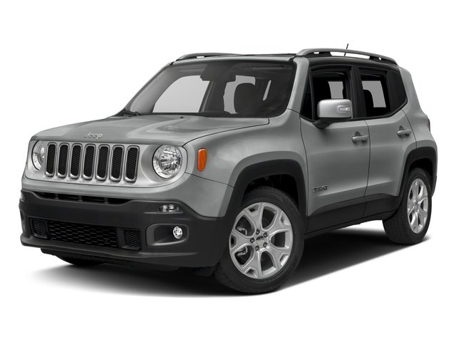 Glacier Metallic 2017 Jeep Renegade Pictures Renegade Utility 4D Limited 2WD photos front view