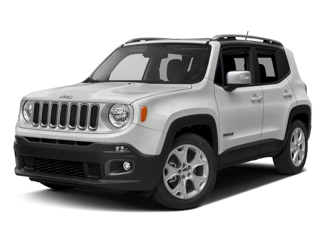 Alpine White 2017 Jeep Renegade Pictures Renegade Utility 4D Limited 2WD photos front view