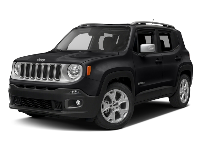 Black 2017 Jeep Renegade Pictures Renegade Utility 4D Limited 2WD photos front view
