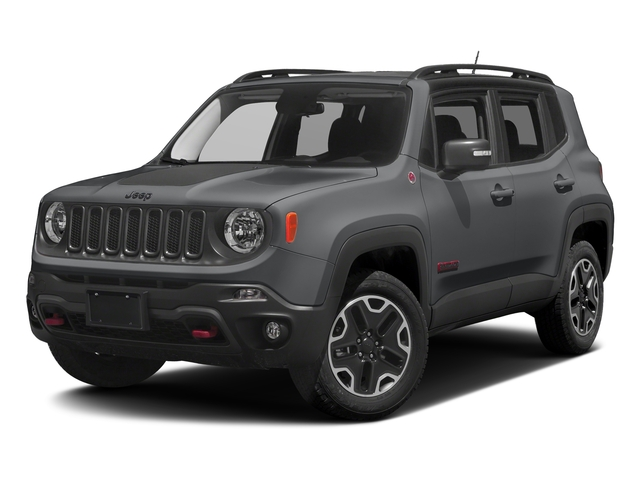 Granite Crystal Metallic Clearcoat 2017 Jeep Renegade Pictures Renegade Utility 4D Trailhawk AWD photos front view