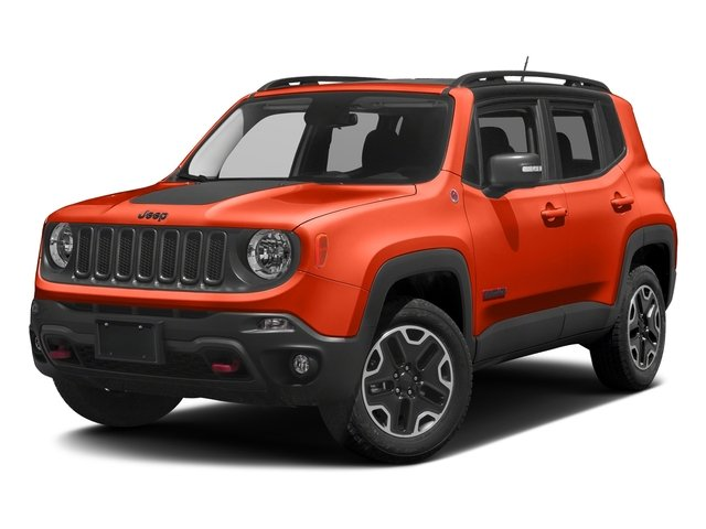 Omaha Orange 2017 Jeep Renegade Pictures Renegade Utility 4D Trailhawk AWD photos front view