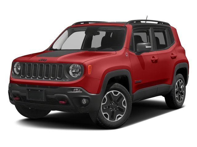 Colorado Red 2017 Jeep Renegade Pictures Renegade Utility 4D Trailhawk AWD photos front view