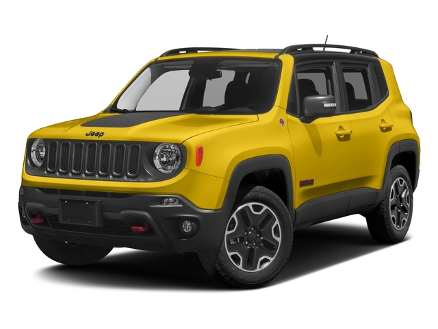 Solar Yellow 2017 Jeep Renegade Pictures Renegade Utility 4D Trailhawk AWD photos front view