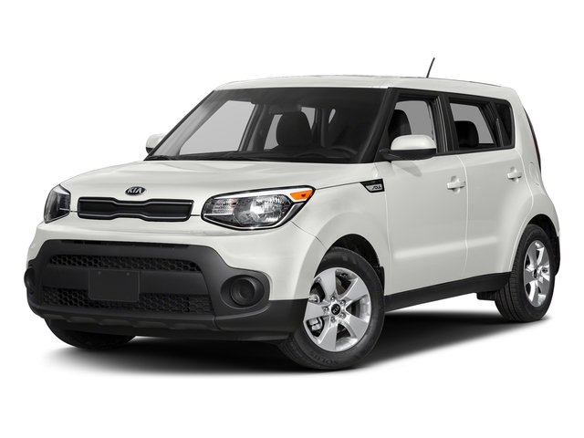 Clear White 2017 Kia Soul Pictures Soul Wagon 4D I4 photos front view