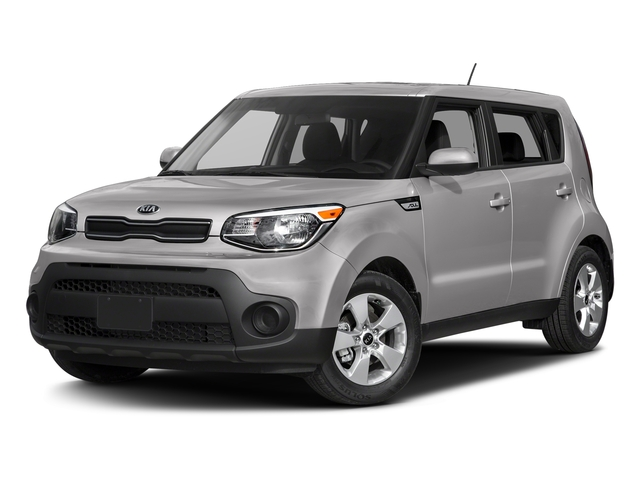 Bright Silver 2017 Kia Soul Pictures Soul Wagon 4D I4 photos front view
