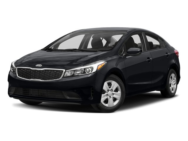 Aurora Black 2017 Kia Forte Pictures Forte EX Auto photos front view