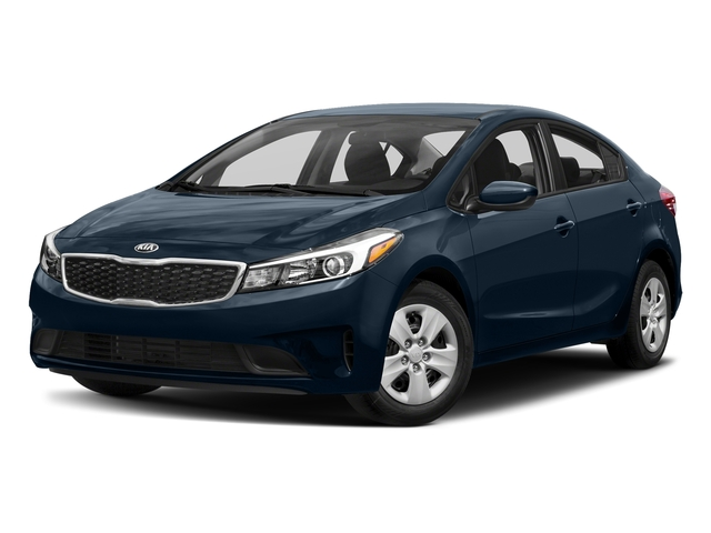 Deep Sea Blue 2017 Kia Forte Pictures Forte EX Auto photos front view