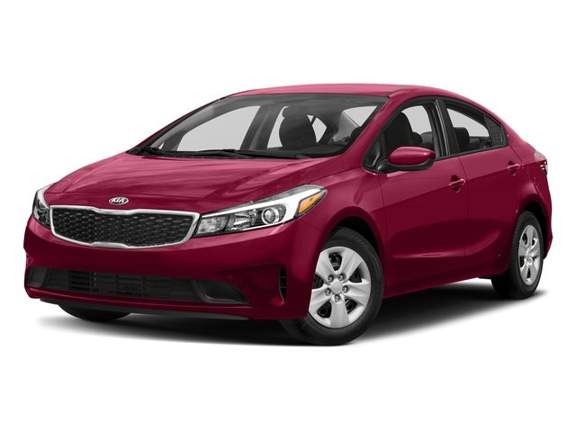Garnet Red 2017 Kia Forte Pictures Forte LX Manual photos front view