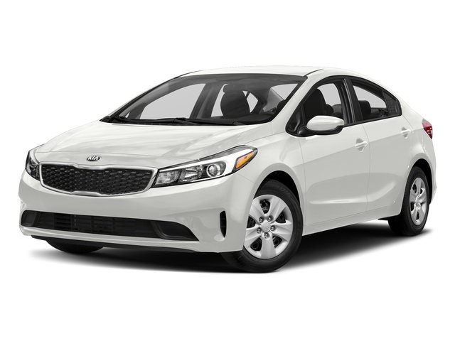 Clear White 2017 Kia Forte Pictures Forte LX Manual photos front view