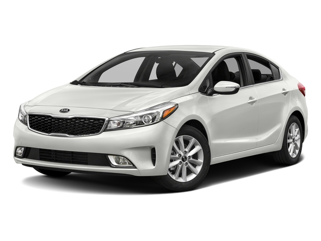 Clear White 2017 Kia Forte Pictures Forte S Auto photos front view
