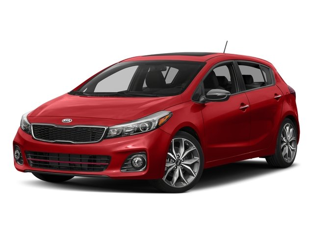 Currant Red 2017 Kia Forte5 Pictures Forte5 SX DCT photos front view