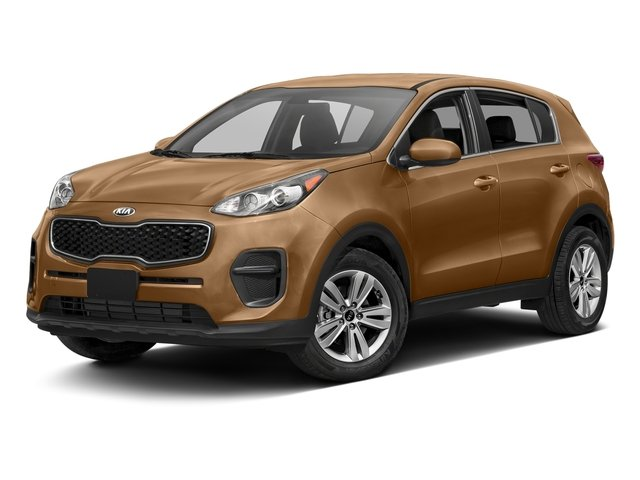 Burnished Copper 2017 Kia Sportage Pictures Sportage LX AWD photos front view
