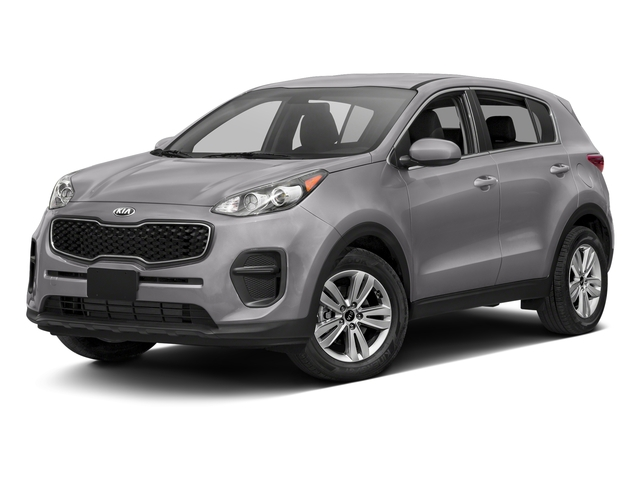 Mineral Silver 2017 Kia Sportage Pictures Sportage LX AWD photos front view