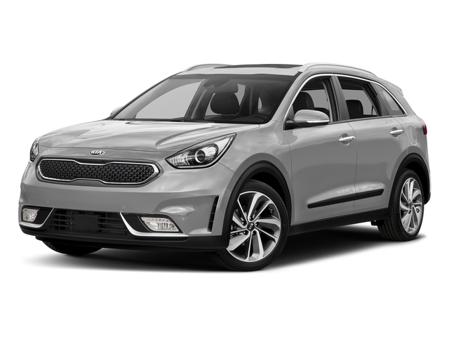Silky Silver 2017 Kia Niro Pictures Niro Touring Launch Edition FWD photos front view