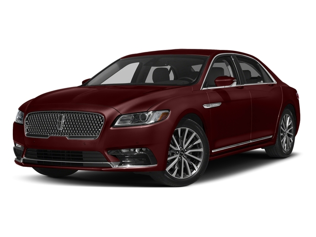 Burgundy Velvet Tinted Clearcoat 2017 Lincoln Continental Pictures Continental Sedan 4D Livery photos front view