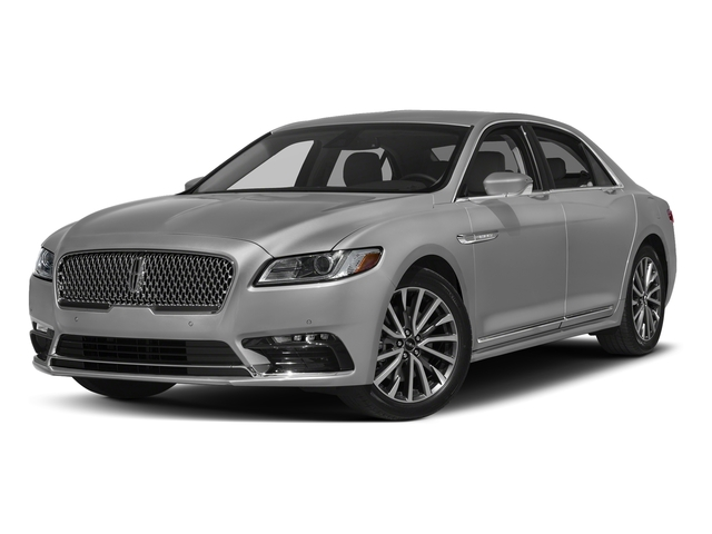 Ingot Silver Metallic 2017 Lincoln Continental Pictures Continental Sedan 4D Black Label AWD V6 Turbo photos front view