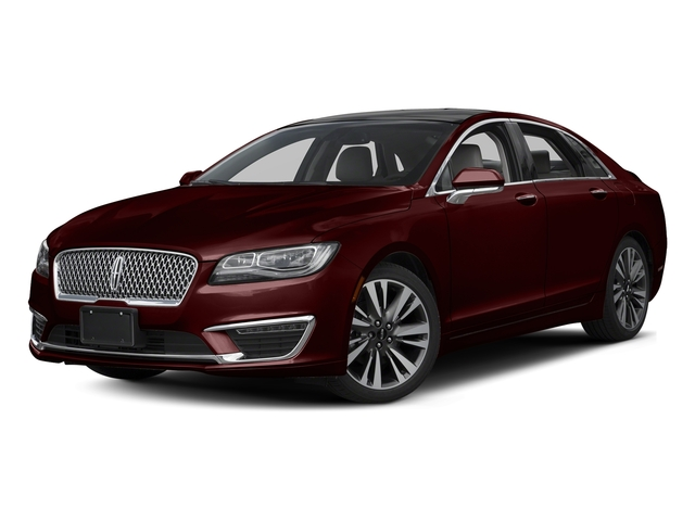 Burgundy Velvet Metallic Tinted Clearcoat 2017 Lincoln MKZ Pictures MKZ Sedan 4D Select AWD I4 photos front view