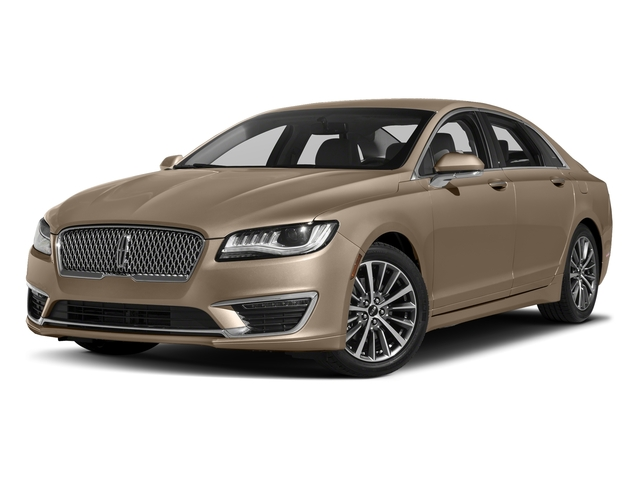 Palladium White Gold Metallic 2017 Lincoln MKZ Pictures MKZ Sedan 4D Select I4 Hybrid photos front view