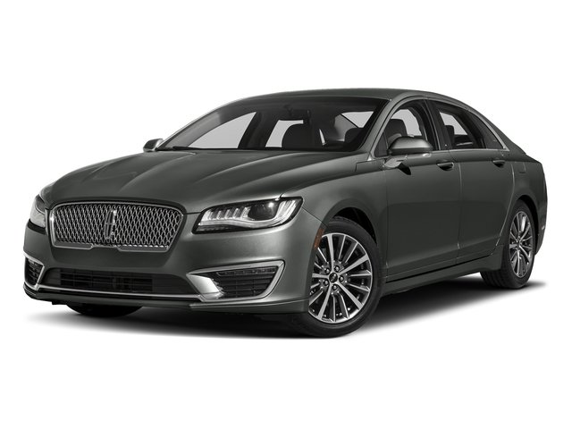 Magnetic Gray Metallic 2017 Lincoln MKZ Pictures MKZ Sedan 4D Select I4 Hybrid photos front view
