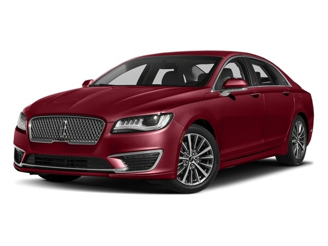 Ruby Red Metallic Tinted Clearcoat 2017 Lincoln MKZ Pictures MKZ Sedan 4D Select I4 Hybrid photos front view