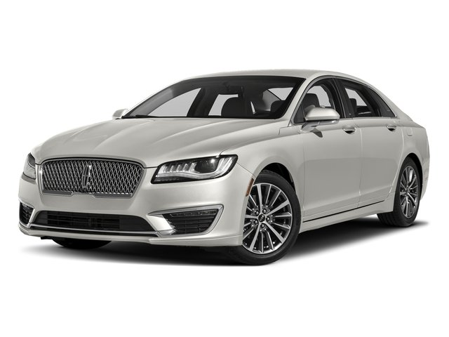 White Platinum Metallic Tri-Coat 2017 Lincoln MKZ Pictures MKZ Sedan 4D Select I4 Hybrid photos front view
