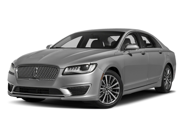 Ingot Silver Metallic 2017 Lincoln MKZ Pictures MKZ Sedan 4D Select I4 Hybrid photos front view