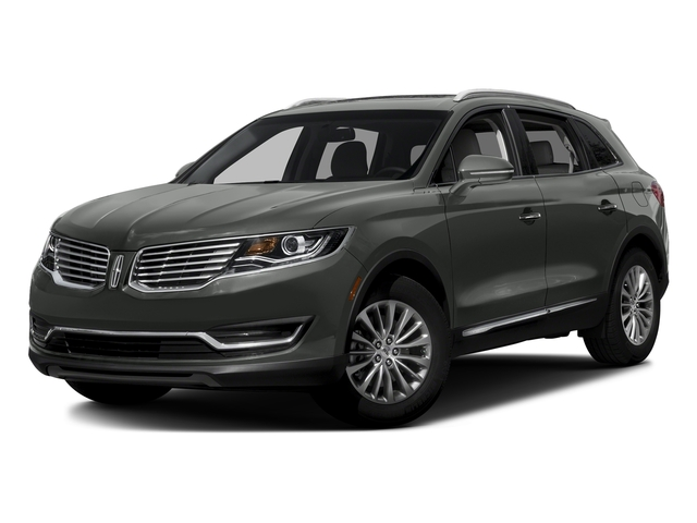 Magnetic Gray Metallic 2017 Lincoln MKX Pictures MKX Util 4D Premiere EcoBoost AWD V6 photos front view