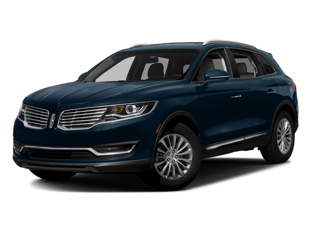 Midnight Sapphire Blue Metallic 2017 Lincoln MKX Pictures MKX Util 4D Premiere EcoBoost AWD V6 photos front view