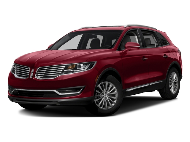 Ruby Red Metallic Tinted Clearcoat 2017 Lincoln MKX Pictures MKX Util 4D Reserve EcoBoost 2WD V6 photos front view