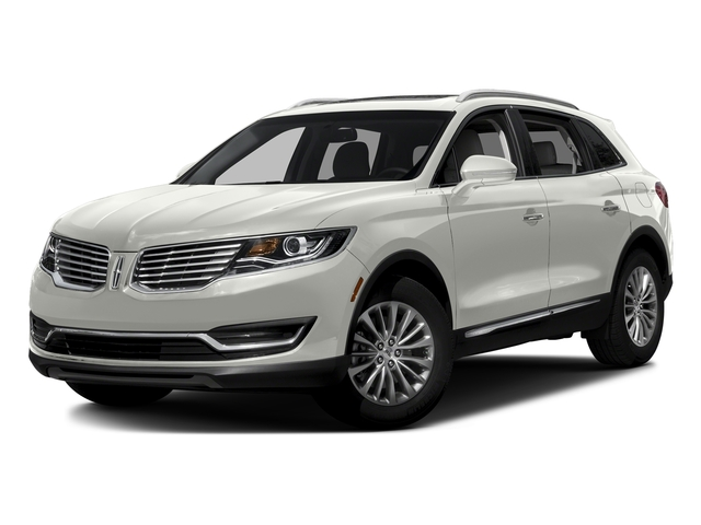 White Platinum Metallic Tri-Coat 2017 Lincoln MKX Pictures MKX Util 4D Reserve EcoBoost 2WD V6 photos front view