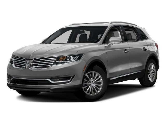 Ingot Silver Metallic 2017 Lincoln MKX Pictures MKX Util 4D Reserve EcoBoost 2WD V6 photos front view