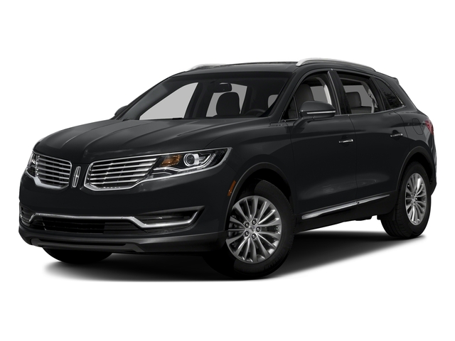 Diamond Black 2017 Lincoln MKX Pictures MKX Util 4D Reserve EcoBoost 2WD V6 photos front view
