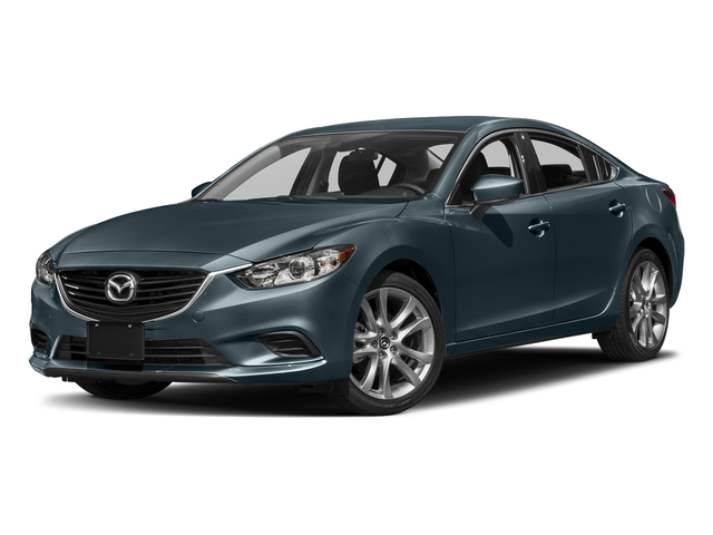 Blue Reflex Mica 2017 Mazda Mazda6 Pictures Mazda6 Sedan 4D Touring I4 photos front view