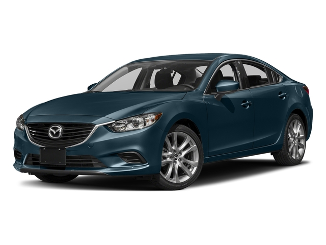 Deep Crystal Blue 2017 Mazda Mazda6 Pictures Mazda6 Sedan 4D Touring I4 photos front view