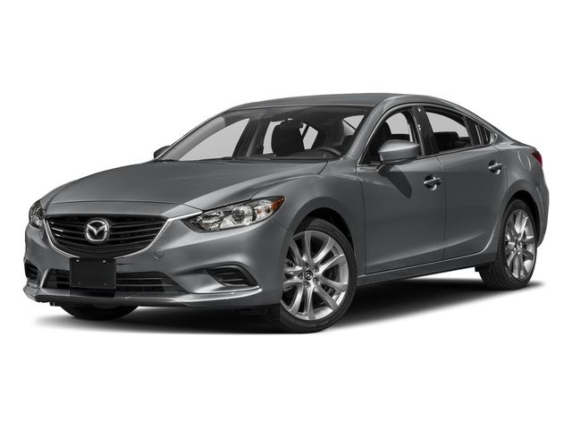 Machine Gray Metallic 2017 Mazda Mazda6 Pictures Mazda6 Sedan 4D Touring I4 photos front view