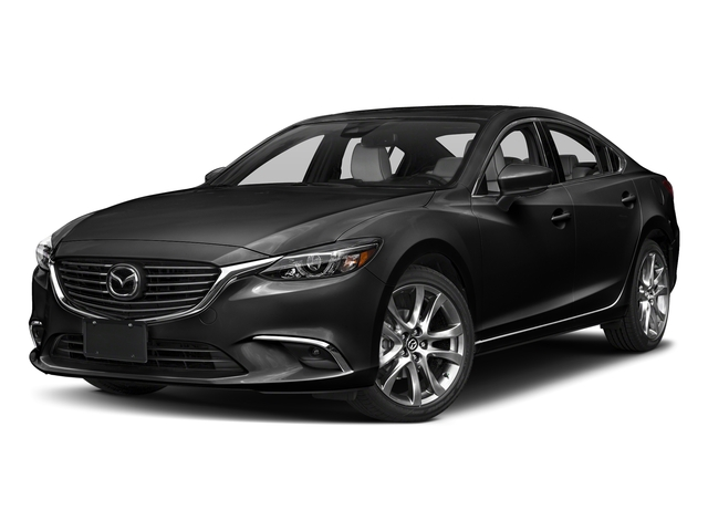Jet Black Mica 2017 Mazda Mazda6 Pictures Mazda6 Sedan 4D GT Premium I4 photos front view
